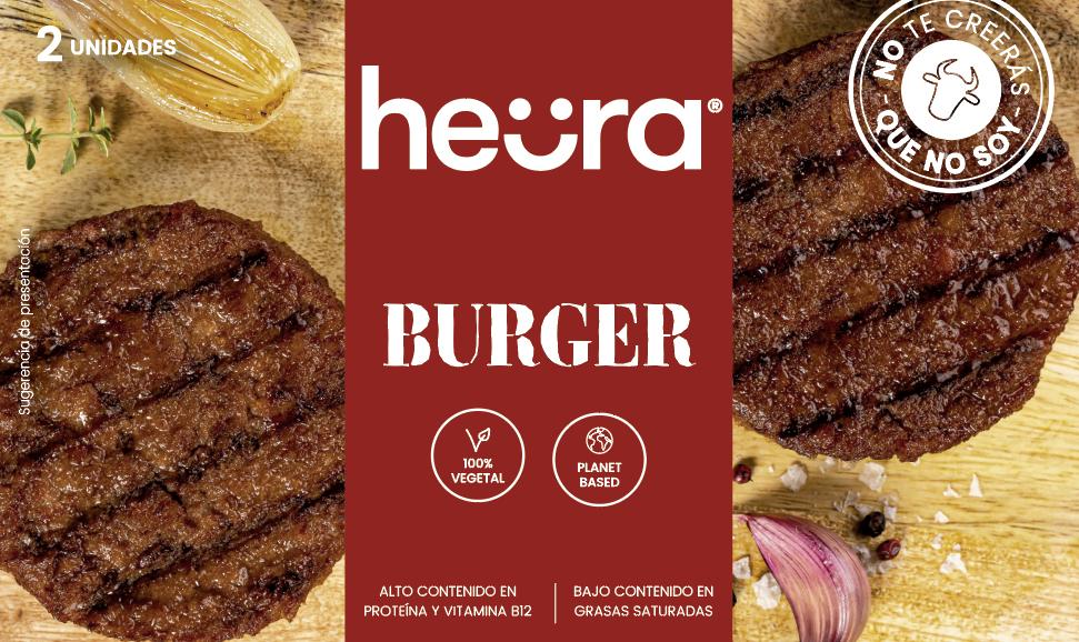 Hamburguesa Vegeta Heura 2u 226g