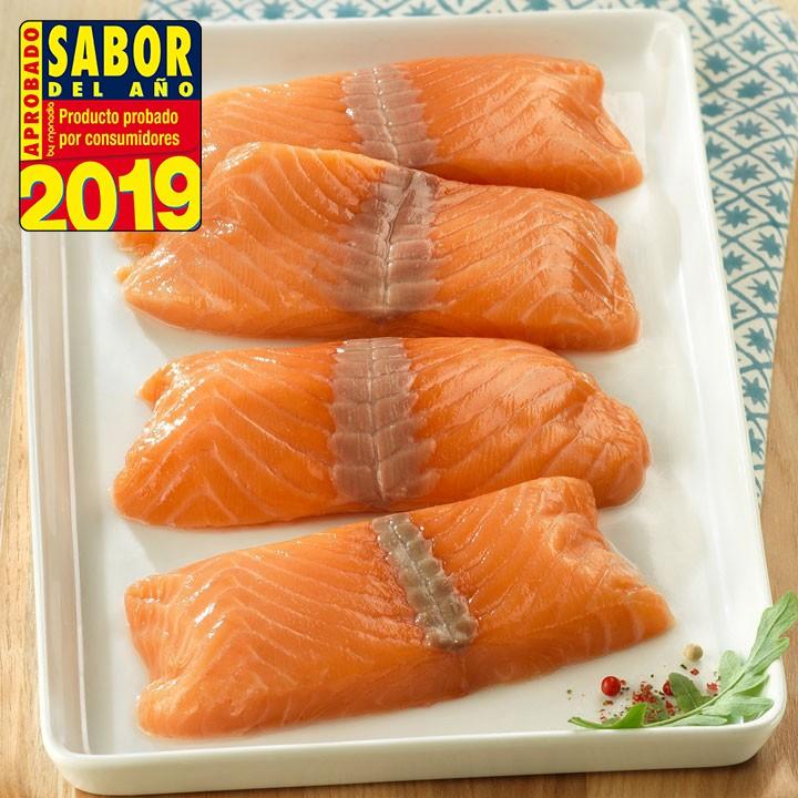 Lomos de Salmón Premium Pack 4x125g