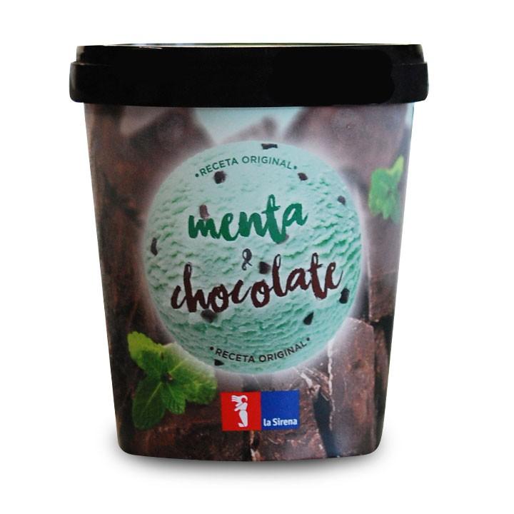 Tarrina Menta Chocolate Premium 500ml